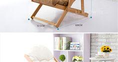 Aliexpress.com: Comprar Premier de madera mecedora silla plegable silla del ocio…
