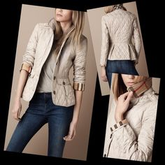 Quilted Burberry Brit jacket. Love this! | By the Book: Nordy ... : burberry quilted jacket outlet price - Adamdwight.com