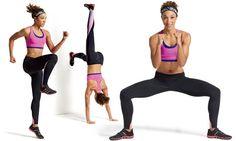 Série de 15 minutos para moldar o corpo e queimar calorias - Pratique esses movimentos em ordem e, em seguida, pule corda ou faça polichinelos por 30 segundos. Descanse entre 30 e 60 segundos e depois repita o circuito mais duas vezes.