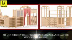 Videos Raumteiler für den Kindergarten