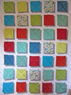 Adaliza's Fly Away Illusion Quilt Be Kind To Yourself, Illusions, Quilts, Blanket, Comforters, Blankets, Quilt Sets, Shag Rug, Log Cabin Quilts