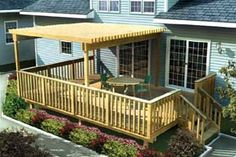Plans for a Large Easy Raised Deck w/ Trellis