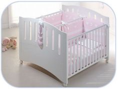 New Baby Bedroom Small Toddler Bed Ideas Twin Baby Beds, Baby Cribs For Twins, Twin Cribs, Baby Doll Bed, Twin Baby Girls, Doll Beds, Small Toddler Bed, Small Baby, Mini Cama