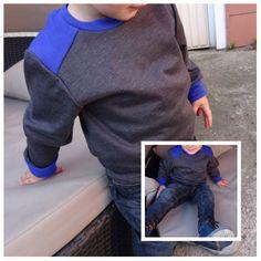 De Leather Sweater (zonder leather)