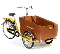 bakfiet cargo trike, large
