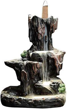 Incense Cones, Incense Sticks, Insense Holder, Tabletop Water Fountain, Sandalwood Incense, Pottery Designs, Sculpture Clay, Incense Burner, Handmade Ceramic