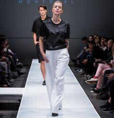 Pantalon plissé à jambe évasée. Fermoir sur le côté.  45% Lin 30% Viscose 20% Polyester 5% Spandex  Créé et fabriqué à Montréal.  Découvrezd'autres produits de Naïké
