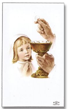 Custom Holy Card: Use as a keepsake for you and your family to remember this special day.