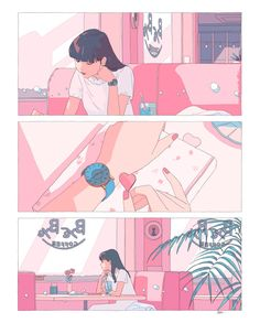 16 Ideas for baby drawing art illustrations Aesthetic Drawing, Aesthetic Art, Aesthetic Anime, Korean Aesthetic, Character Illustration, Art Illustrations, Digital Illustration, Pretty Art, Character Design