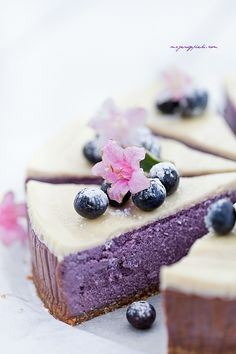 ... blueberry cheesecake ...