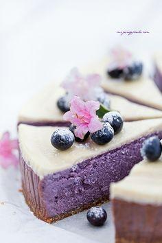 ... blueberry cheesecake ...