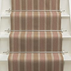 Products | Runners for stairs and halls | Red | Sudbury Narrow: Brick - Roger Oates Design