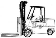 Hyster Service Manual: FREE HYSTER SPACESAVER S70XL, S80XL