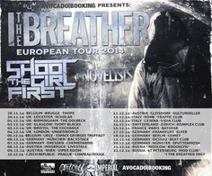I The Breather live at The Underworld Camden at The Underworld Camden, 174 Camden High Street, London, NW1 0NE, United Kingdom on December 04 at 7:00 pm - 11:00 pm, Price: General Admission: £10.00, I The Breather is a brand new group bringing their fresh and fuel-injected metalcore to audiences everywhere, Tickets: http://atnd.it/15814-0, Artists : I The Breather, Shoot The Girl First, The Novelists, Category: Live Music | Gig.
