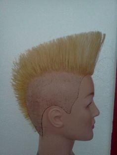 hair by @prettyinpoison  Psychobilly quiff