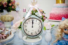 festa cinderela Cinderella Theme, Cinderella Birthday, 3rd Birthday, Birthday Parties, Parties Kids, Birthday Ideas, Baby Princess, Dessert Table, Party Time