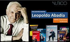 Encuentro digital de Leopoldo Abadía en #Nubico. #LeopoldoAbadiaNubico #12marzo2015 https://www.facebook.com/NubicoEbook/app_161683100556760