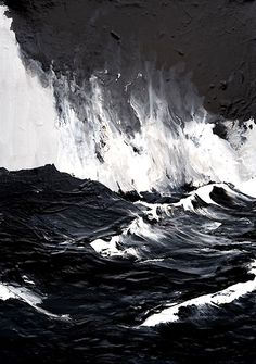 Werner Knaupp (German, b. 1936, Nuremberg, Germany) - Westmännerinseln (Westman Islands), 2011 Paintings: Acrylics on Canvas