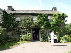 Beatrix Potter's home, Hill Top Farm, visited there in 2000 fascinating to see things that were used in her drawings