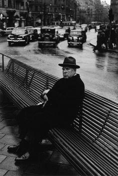 Gunnar Smoliansky :: Stureplan, Stockholm, 1956