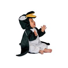 Penguin Plush Costume - Size 12 Months