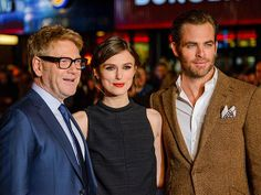 Kenneth Branagh and Chris Pine let Keira Knightley steal the spotlight at the London premiere of their thriller, Jack Ryan:  Shadow Recruit. http://www.people.com/people/gallery/0,,20777987,00.html#30087706