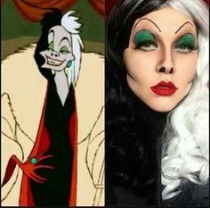 Cruella de vil look
