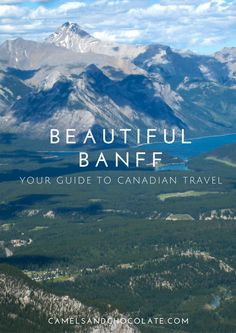 A Summer Vacation in Banff and Lake Louise Oh The Places You'll Go, Places To Travel, Travel Destinations, Travel Inspiration, Travel Ideas, Travel Tips, Canadian Travel, Relaxing Places, Banff