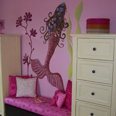 Kids Girls' Mermaid Rooms Design, Pictures, Remodel, Decor and Ideas