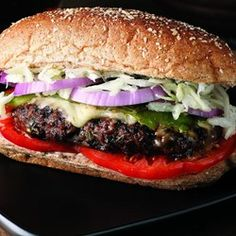 """Fajita"" Burgers - EatingWell.com"