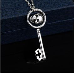 Hot new item just added today Skull Key Pendant... Get an extra 20%Off entire order use code SALE20. Click here http://everythingskull.com/products/skull-key-pendant-figure-necklace-women-men-hip-hop-necklace?utm_campaign=social_autopilot&utm_source=pin&utm_medium=pin take a closer look.