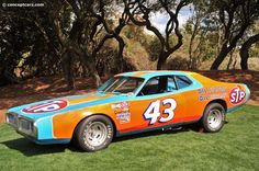 1974 Richard Petty Dodge Charger NASCAR. #OLDSCHOOLNASCAR