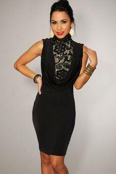 Cheap Decorative Featured Neck Black Vintage Dress online - All Products,Fashion Dresses,Vintage Dresses Vintage Dresses For Sale, Vintage Style Dresses, Peplum, Bodycon Dress, Retro Dress, Ball Dresses, Cheap Dresses, Fashion Dresses, Clothes For Women