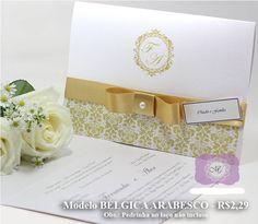Convites de Casamento Papel ASPEN Perola