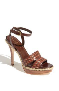 Cole Haan Air Vanessa Sandal in Brown (chestnut/ sequoia) | Lyst