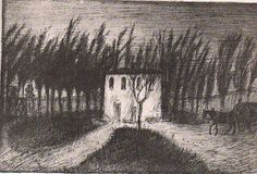 The House in the Woods (1910 ?) ~ by Alfred KUBIN.