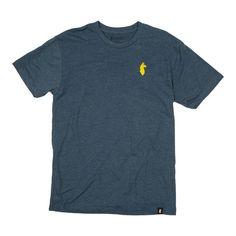 T-Shirts - Tiny Llama T-Shirt - Men's Navy