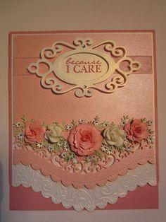 Image result for cards on pinterest Fretwork Pocket Spellbinders Shapeabilities Dies