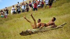 Tapati Rapa Nui, es un festival común que ocurre en la isla de Pascua cada año.