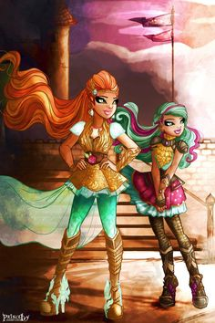 my Illustrations, character designs and the beautifuk work of other artists from Ever After High, Winx Club and other fandoms - NSFW ART -> Ever After High, Monster High Art, Monster High Characters, Character Art, Character Design, Ever After Dolls, Disney Princess Fashion, Dragon Games, Princesa Disney