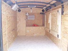 Trailer comes with 2-5200lb. Because it doesn't feel like you're hauling a trailer, it's not hard to forget that it's there. After a couple of hours o... Enclosed Trailer Camper Conversion, Cargo Trailer Conversion, Enclosed Trailers, Cargo Trailers, Utility Trailer, Camper Trailers, Bus Camper, Camper Life, Travel Trailers