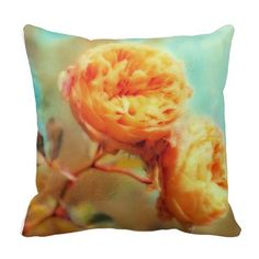 Shabby Chic Floral Pillow