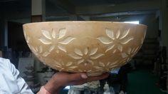 jaiselmer yellow stone lotus bowl