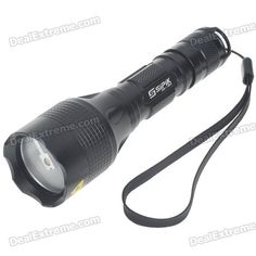 SIPIK CK361 3-Mode 180-Lumen White LED Flashlight with Strap (1*18650). Brand Sipik Model CK361 Quantity 1 Piece Color custom10000 Material Aluminum alloy Other Features Others,N/A Emitter Brand Cree LED Type Others,N/A Emitter BIN Q3 Number of Emitters 1 Color BIN White Working Voltage 2.8~4.2 V Power Supply 1 x 18650 rechargeable battery (not included) Current 0.8 A Actual Lumens 180 lumens Runtime 40 minutes Number of Modes 3 Mode Arrangement Hi,Mid,Fast Strobe Mode Memory No Switch Type…