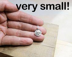 Tiny Pomeranian necklace silver pom jewelry by lulubugjewelry