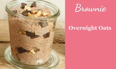 Overnight Oats Rezept Brownie