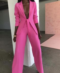 Ohvera Bow Ladies Suit Women Suits Office Sets Casual Blazer And Pants Set Formal Two Piece Set Terno Feminino Casual Blazer, Casual Suit, Casual Wear, Formal Pant Suits, Dress Casual, Look Fashion, Fashion Outfits, Fashion Clothes, Womens Fashion