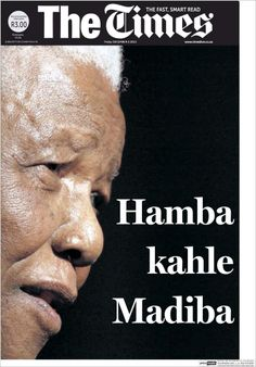 The Times (South Africa) on Mandela's death
