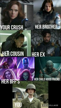 Love this meme. They should have one for star trek star wars and doctor who-Love this meme. They should have one for star trek star wars and doctor who Love this meme. They should have one for star trek star… - Avengers Humor, Marvel Jokes, Funny Marvel Memes, Dc Memes, Memes Humor, Funny Comics, Funny Humor, Marvel Avengers, Marvel Heroes