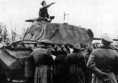 Max Wünsche during training maneuvers at Beverloo, Belgium. Luftwaffe, Fritz Witt, Wilhelm Keitel, Battle Of Normandy, Panzer, Wwii, History, Belgium, March